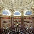 Domed Main Reading Room by Everett