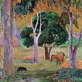 Dominican Landscape by Paul Gauguin