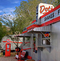 Dot's Diner In Bisbee by Charlene Mitchell