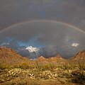 Double Rainbow Tucson Arizona by Louis Amore