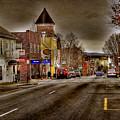 Down Town Lexington Va by Todd Hostetter