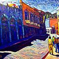 Downtown Bisbee by Steve Lawton
