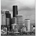 Downtown Seattle by William Jones