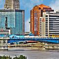 Downtown Toledo Riverfront by Jack Schultz