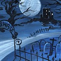 Dracula's Castle by Sylvia Pimental