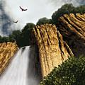 Dragons Den Canyon by Richard Rizzo