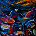 Drummer Craze by Jeanette Jarmon