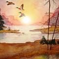 Ducks by Melissa Wiater Chaney