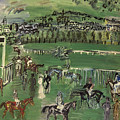 Dufy: Race Track, 1928 by Granger