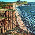 Dunes At Montauk by Ralph Papa