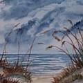 Dunes Seascape Fine Art Poster Print Seascape by Derek Mccrea