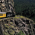 Durango - Silverton Train by Sally Weigand