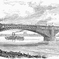 Eads Bridge, St Louis by Granger