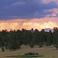 Eagle Rock Estes Park by Heather Coen