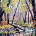 Early Fall On East Canyon Creek by JoAnne Corpany