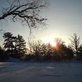 Early January Winter Sunrise by Kent Lorentzen