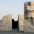Early Morning At The Martin Luther King Jr Memorial - Washington Dc by Brendan Reals