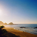 Early Morning In Zipolite 2 by Lyle Crump