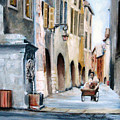 Early Morning Vendor  by Leonardo Ruggieri