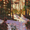 Early Spring Near Hyak by Mary McInnis