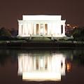 Early Washington Mornings - Lincoln Reflecting by Ronald Reid