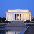 Early Washington Mornings - The Lincoln Memorial by Ronald Reid