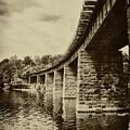 East Falls Rail Road Bridge by Bill Cannon