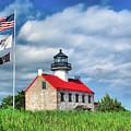East Point Lighthouse Nj by Nick Zelinsky