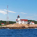 Eastern Point Light by Armand Hebert