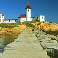 Eastern Point Lighthouse by John Burk