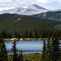 Echo Lake Colorado by Marilyn Hunt