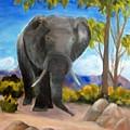 Eddy Elephant by Jamie Frier