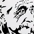 Einstein Waiting In Line by Robert Margetts