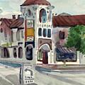 El Camino Real In San Carlos by Donald Maier