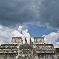El Templo De Las Columnas  1 by Douglas Barnett