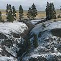 Elberton Cliffs In Winter by Jerry McCollum