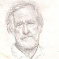 Elderly Man by Asha Sudhaker Shenoy
