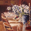 Elegant Dining At Hearst Castle by Barbara Andolsek