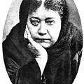 Elena Petrovna Blavatsky by Granger