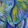 Elephant On Parade by Amie  La Voie-Moore