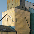 Elevator In Moscow Idaho by Jerry McCollum