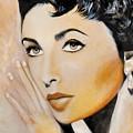Elizabeth Taylor by Elizabeth Silk