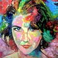 Elizabeth Taylor by Leland Castro