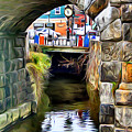 Ellicott City Bridge Arch by Stephen Younts