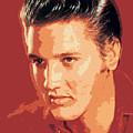 Elvis Presley - The King by David Lloyd Glover