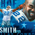 Emmit Smith Hof by Jim Wetherington