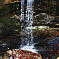 Emory Gap Falls by Joselyn Holcombe