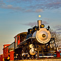 Engine 509 At Crossville Tennessee Puffing by Douglas Barnett