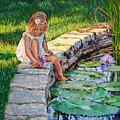 Enjoying Yesterdays Sunlight by John Lautermilch