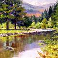 Entiat River by Ken  Duffin